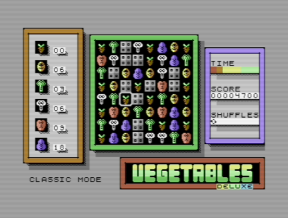 Vegetables Deluxe Classic Mode
