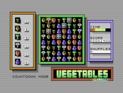 Vegetables Deluxe Countdown Mode