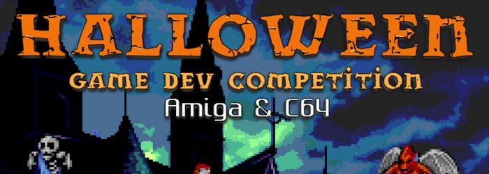 halloween game dev competition 2019 poster