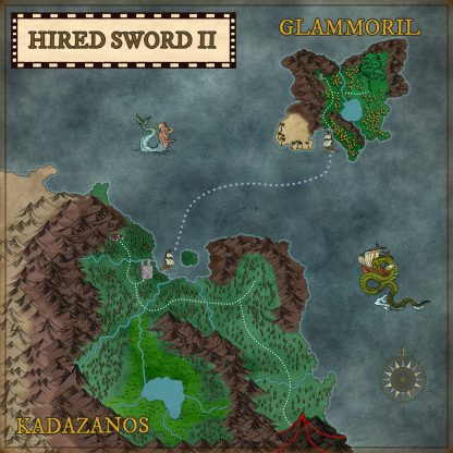 Hired Sword 2 - Cloth Map